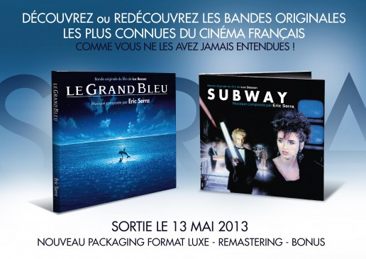 Argumentaire Eric Serra - le grand bleu - subway