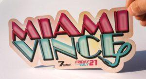 Flyer Miami Vince