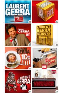 Propositions Laurent Gerra 10 ans sur RTL