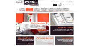 Visuel interface Qualité Stores