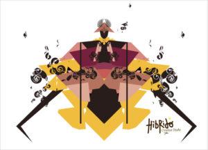 Samuraï Illustrator Artwork
