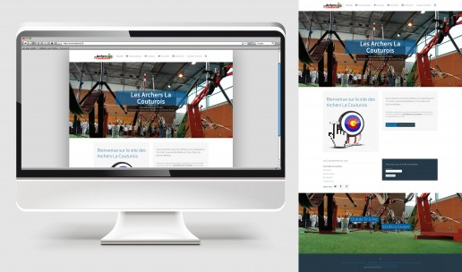 Site internet des Archers La Couturois