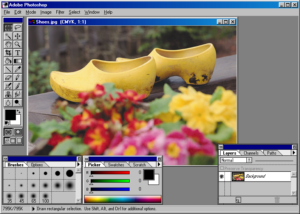 Interface photoshop 3.0