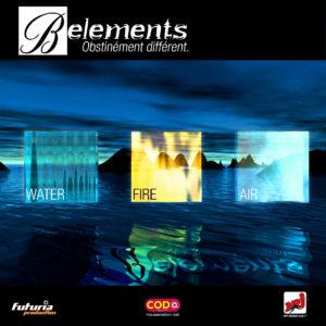 Recto du Flyer B-Elements