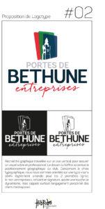 logo V2 Portes de Bethune Entreprise