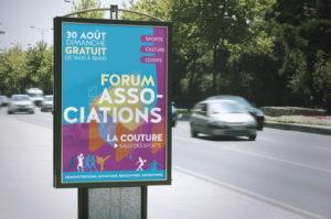 Identité visuelle du forum des associations