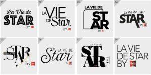 recherche de Logo La Vie de Star
