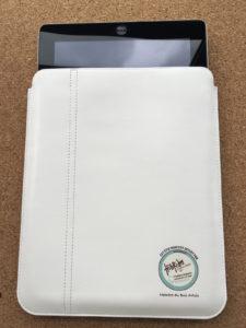 Etui Cuir iPad personnalisé avec gravure laser