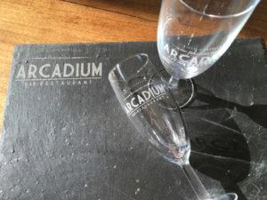 Gravure sur verre ou sur ardoise