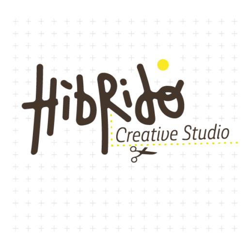 logo hibrido square