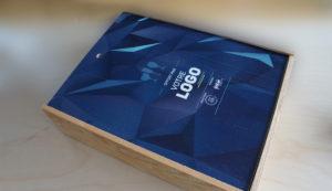 objet publicitaire personnalisé : le coffret en bois