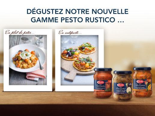 Animation Facebook Barilla - Pesto Rustico