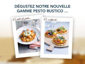 Teaser pour Facebook - Gamme Pesto rustico