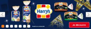 Bannière carousel Harrys