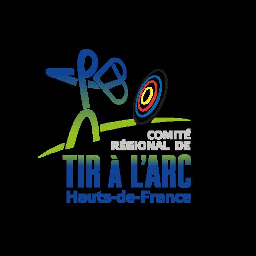 logo comité régional de tir à l'arc hauts de france