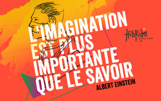 L'imagination est plus importante que le savoir - citation d'Albert Einstein