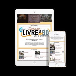 Visuel site internet Salon du Livre et de la BD