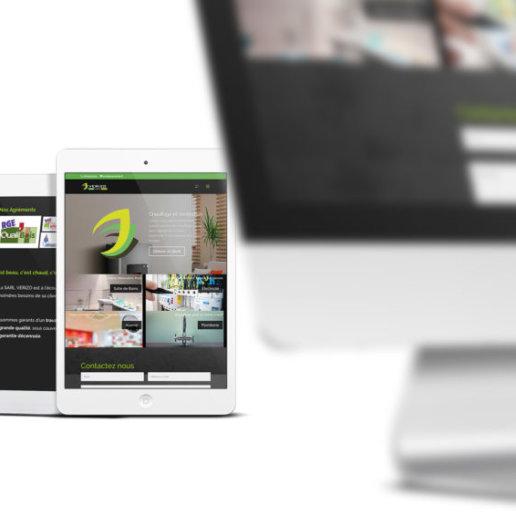 Site internet société verizo.fr