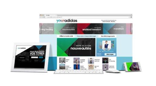 your adidas showcase