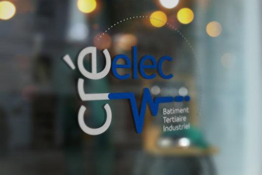 design du logo Cré Elec (Merville)
