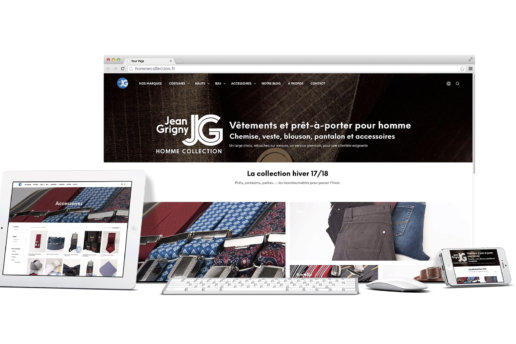 Visuels site internet maison Grigny