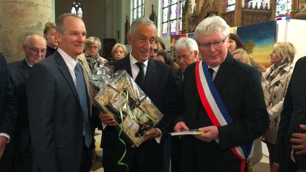 Panier Garni remis au président du Portugal